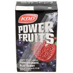 KDD Power Fruits Pomegranate Acai Berry Juice