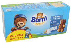 Barni Kids Milk Cake 10+2 Free