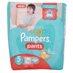 Pampers Pants Size 5 Junior 12 - 18 Kg