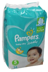 Pampers Active Baby-Dry 5 Junior Diapers 11 - 18 Kg