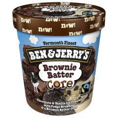 Ben & Jerry'S Brownie Batter Core Ice Cream 437ml |sultan-center.comمركز سلطان اونلاين