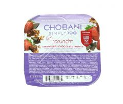 Chobani Crunch Low Fat  Strawberry And dark ChocolateGreek Yogurt  119G |sultan-center.comمركز سلطان اونلاين