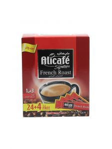 Ali Cafe Signature French Roast 3In1 Instant Coffee  25G X 24Pcs   ?sultan-center.com????? ????? ???????