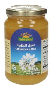 Natureland Organic Coriander Honey