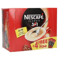 Nescafe Classic 3In1 Instant Coffee  24+ 4 Free | sultan-center.com مركز سلطان اونلاين