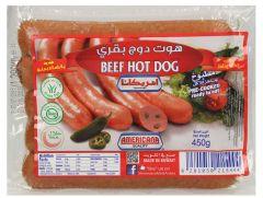Americana Beef Hot Dog Jalapenos