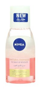 Nivea Natural Fairness Vitamin C Eye Make-Up Remover  125Ml |?sultan-center.com????? ????? ???????