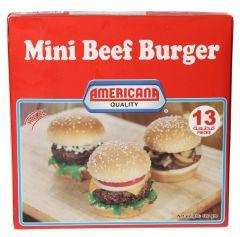 Americana Mini Beef Burger 400g  ?sultan-center.com????? ????? ???????