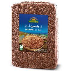 Natureland Organic Jasmine Red Rice 1kg |sultan-center.comمركز سلطان اونلاين