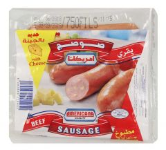 Americana Beef Cheese Sausage