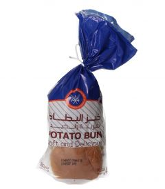Kfm Soft & Delicious Potato Bun 4Pcs |?sultan-center.com????? ????? ???????