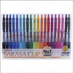 Zebra Sarasa Clip Gel Ink 0.7mm Pen Set