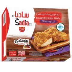 Sadia Hot & Spicy Zings Chicken Fillet 465g |sultan-center.comمركز سلطان اونلاين