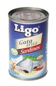 Ligo Gata Style Sardines  155g  ?sultan-center.com????? ????? ???????