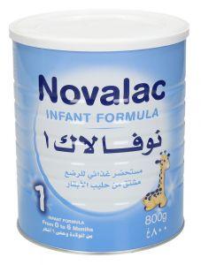 Novalac 1 0-6Months Infant Formula Milk 800g |?sultan-center.com????? ????? ???????