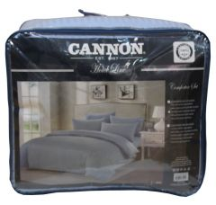 Cannon King Size Striped Hotel Line Comforter