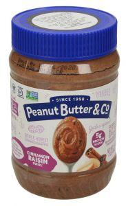 Peanut Butter & Co Cinnamon Raisin Swirl Peanut Butter