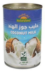 Natureland Organic Coconut Milk 400Ml