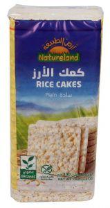 Natureland Organic Plain Rice Cake