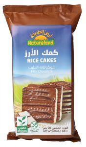 Natureland Organic Milk Chocolate Rice Cake