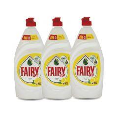 Fairy Lemon Dishwashing Liquid 2+1 Free