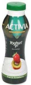 Activia Kiwi & Strawberry Go Yoghurt