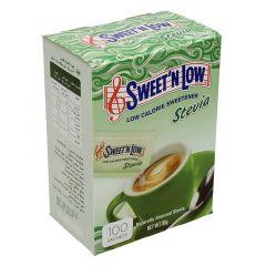 Sweet'N Low Stevia Sweetener 100Sachets  ?sultan-center.com????? ????? ???????