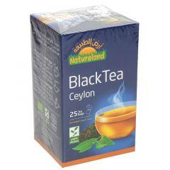Natureland Organic Ceylon Black Tea  50g |sultan-center.comمركز سلطان اونلاين