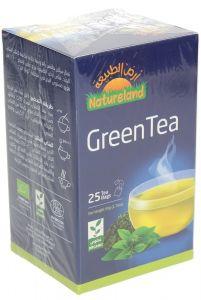 Natureland Organic Green Tea 50g |sultan-center.comمركز سلطان اونلاين