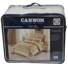 Cannon King Size Cotton Tone Hotel Line Comforter