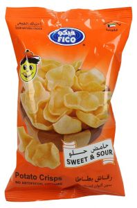 Fico Sweet and Sour Potato Crisps