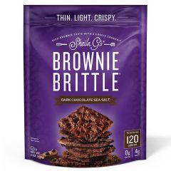 Brownie Brittle Dark Choclate Sea Salt Chips