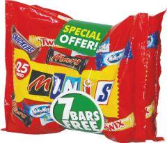 Mars Minis Mix Chocolate 2+1 Free