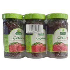 Halwani Strawberry Jam 2 + 1 Free