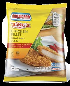 Americana Zingz Hot & Crunchy Chicken Fillet