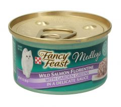 Fancy Feast Meldeys Wild Salmon Cat Food