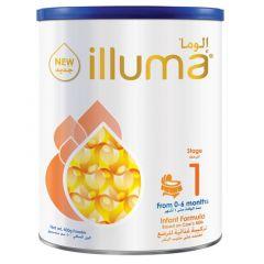 Illuma Stage 1 From 0-6 Months Infant Milk Formula 400g