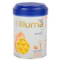 Wyeth Illuma Stage 1 Infant Formula Milk Powder 0-6 Months 850G |?sultan-center.com????? ????? ???????