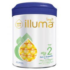 Illuma Stage 2 From 6-12 Months Follow On Milk Formula 850g