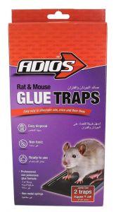 Adios Rat & Mouse glue Trap
