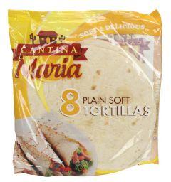 Cantina Maria Plain Soft Tortillas 320G  ?sultan-center.com????? ????? ???????