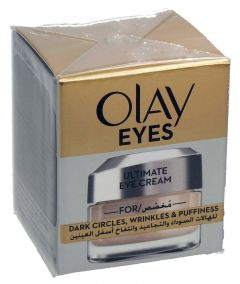 Olay Eyes Ultimate Eye Cream For Dark Circles & Wrinkles & Puffiness 15Ml |?sultan-center.com????? ????? ???????