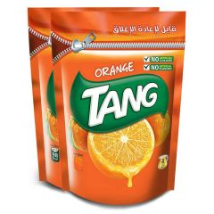 Tang Orange Instant Drink Mix Powder Pack of 2