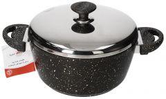 Saflon Granit Casserole With Steel Lid