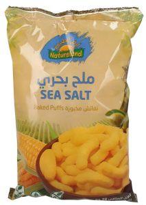 Natureland Organic Gluten Free Sea Salt Baked Puffs