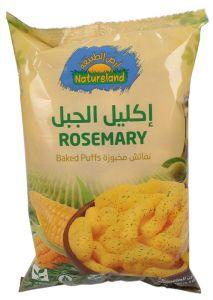 Natureland Organic Gluten Free Rosemary Baked Puffs