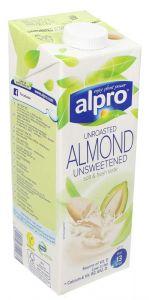 Alpro Unroasted Unsweetened Almond Milk