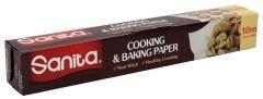 Sanita Cooking & Baking Paper 10Mx30Cm |sultan-center.comمركز سلطان اونلاين