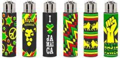 Clipper Pop Cover Lighter Mixed Designs