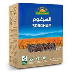 Natureland Fusilli Sorghum Pasta 500G  sultan-center.comمركز سلطان اونلاين